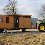 foto's aankomst tiny house