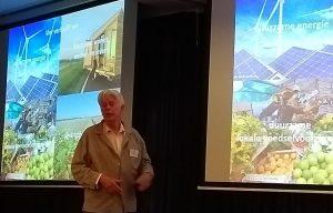 Jan Does houdt zijn presentatie